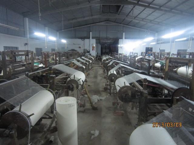 Sản xuất vải gạc